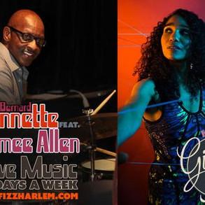 Bernard Linnette and Aimee Allen