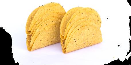 taco shell guaco mexicana