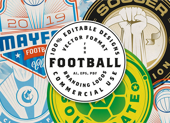 Football Logo Designs