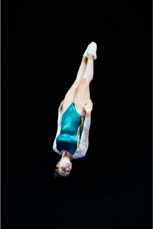 Kaitlyn Perkins - Trampoline