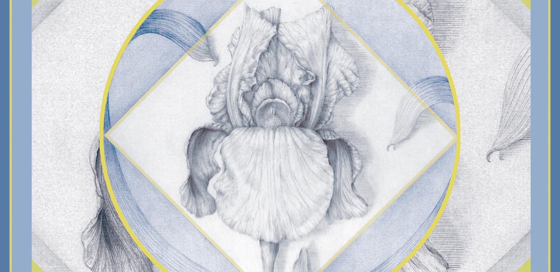 Pañuelo Delilium Azul