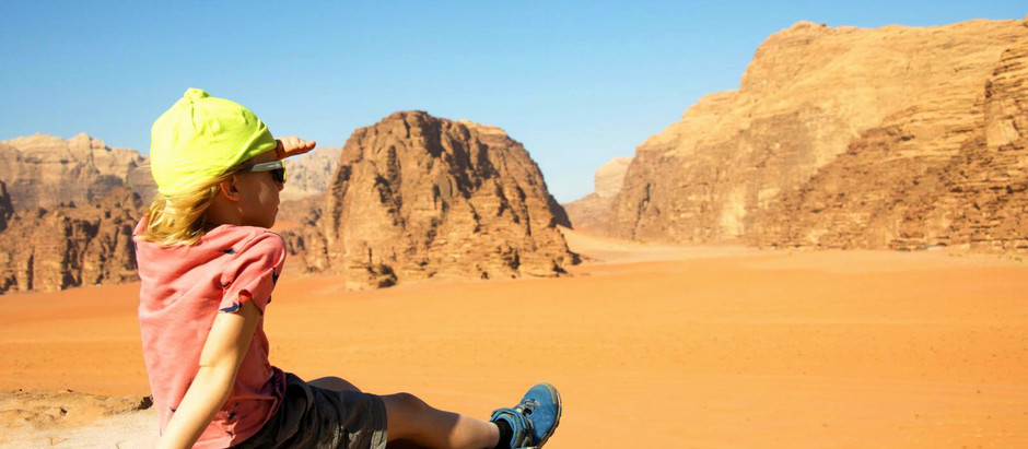Learn English in The Desert!