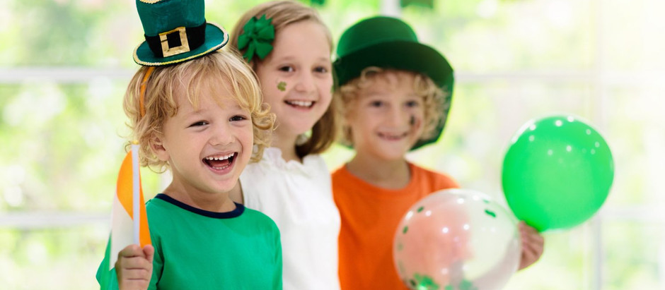 Learn English on St. Patrick 's Day!