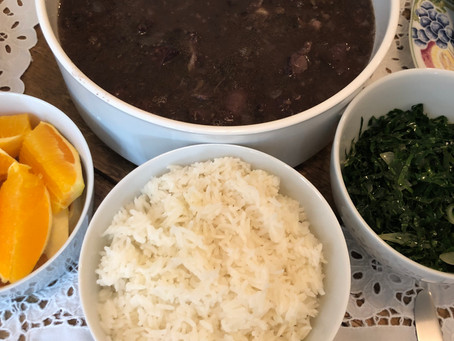Brazilian Feijoada – Black Beans Cooked with Pork Ribs, Sausages and Neck Bones (Nutrient-Dense Meal