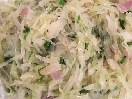 Sautéed Cabbage with Cilantro - Natural Detoxifiers