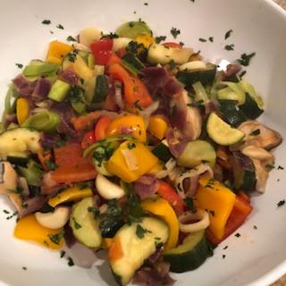 Receita fácil e deliciosa de Ratatouille – Prato Colorido e Rico em Nutrientes - Paleo/Low Carb Diet