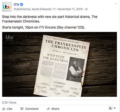 ITV social media