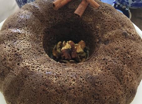 Pão de Banana da Terra Verde e Farinha de Nozes - Paleo
