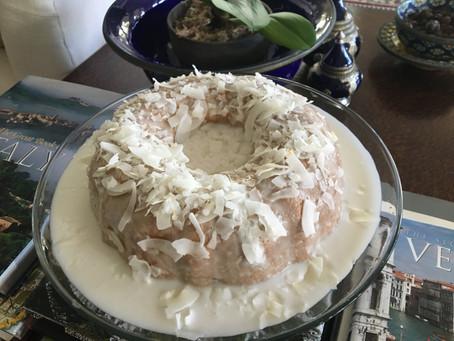 Gluten & Sugar Free Delicious Coconut Cake