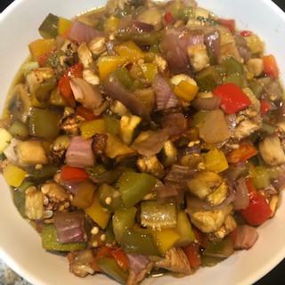 Legumes Assados com Aceto Balsâmico