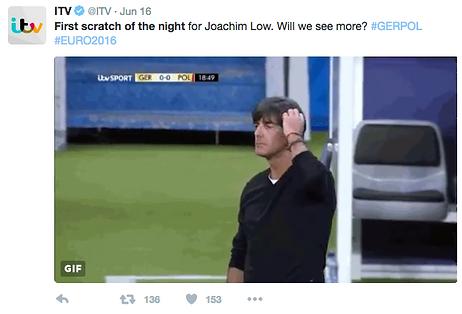 ITV Tweet