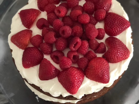 Bella's Cake - A Delicious Way to Include Fiber in our Diet - Paleo/Low-Carb/Keto