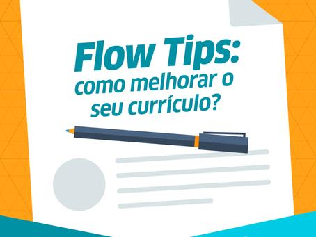 10 Dicas Flow para o seu Currículo
