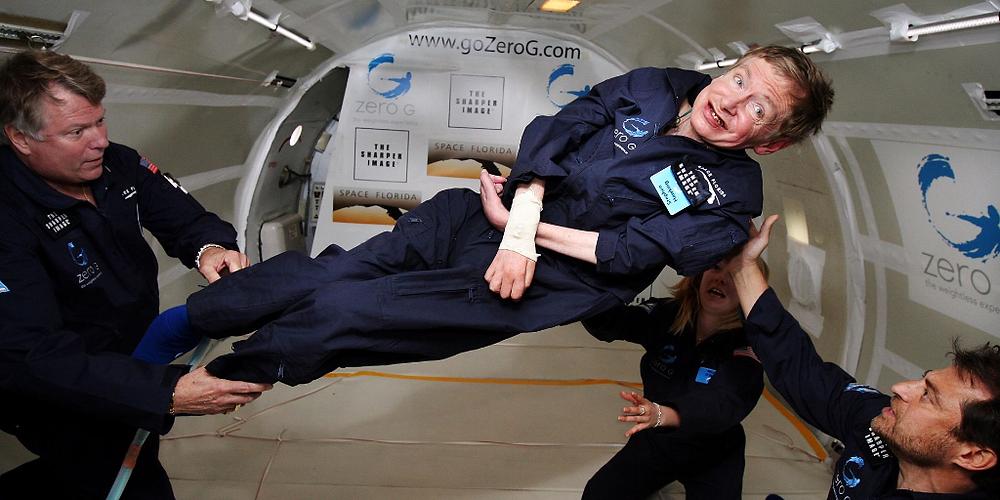 Stephen Hawking Zero Gravity - Blog Avatti