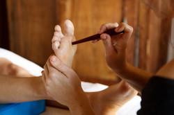 réflexologie plantaire thaï lège cap ferret l'odonate