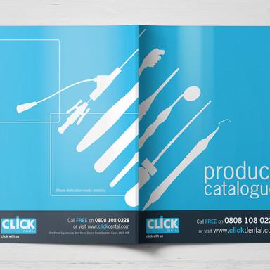 Click Dental Catalogue Cover