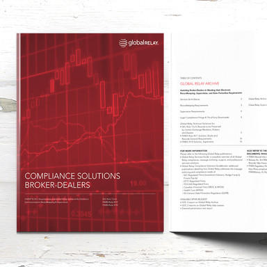 Global Relay Compliance Guide