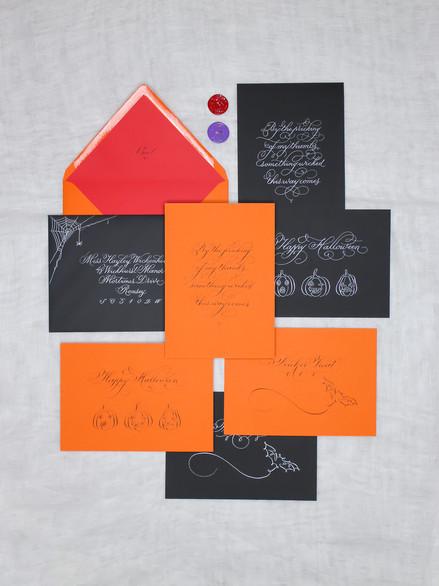 Halloween Calligraphy Suite