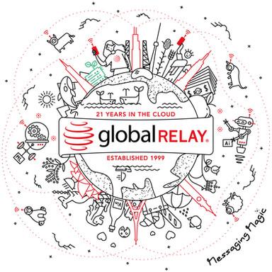 Global Relay World Illustration