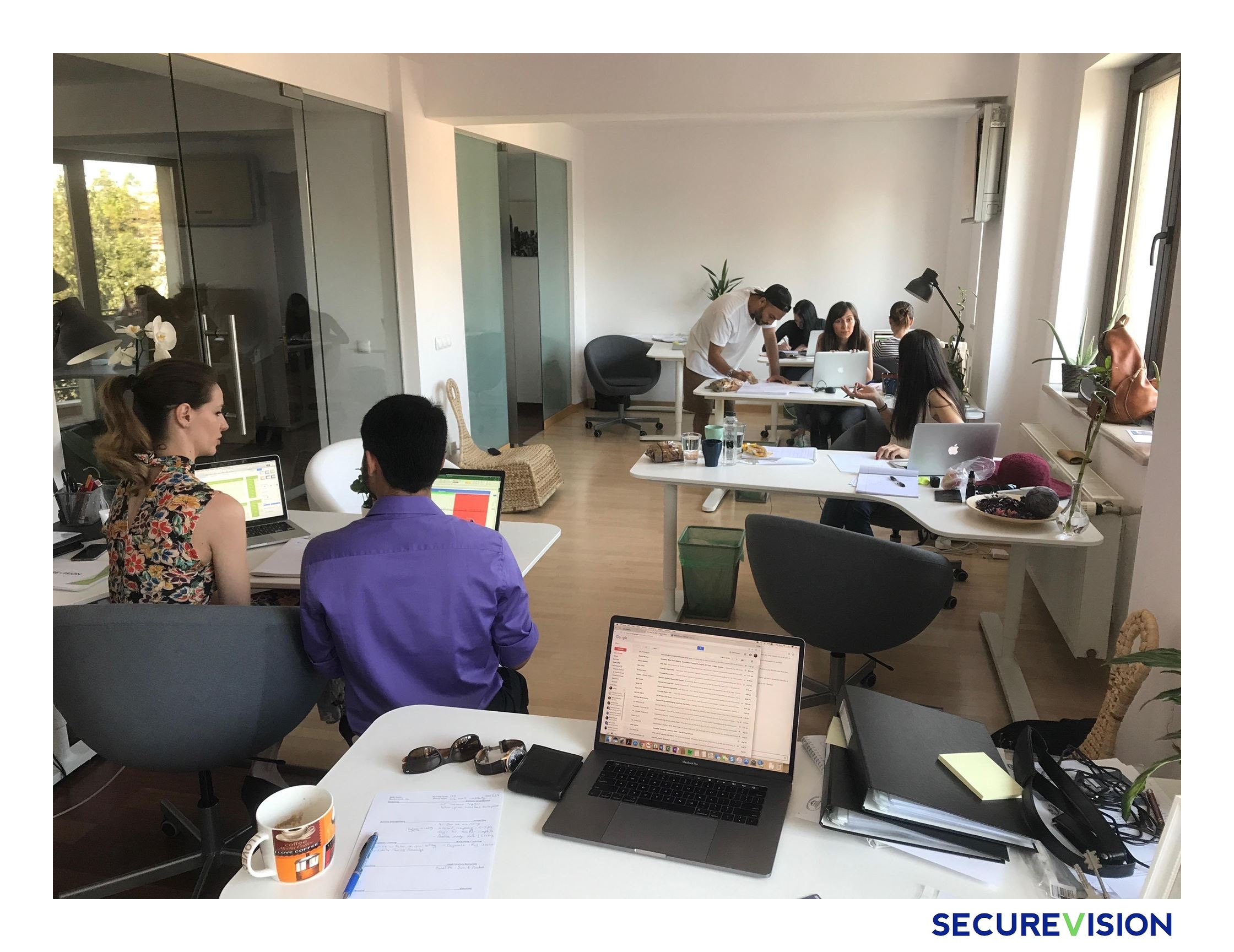 SecureVision team work
