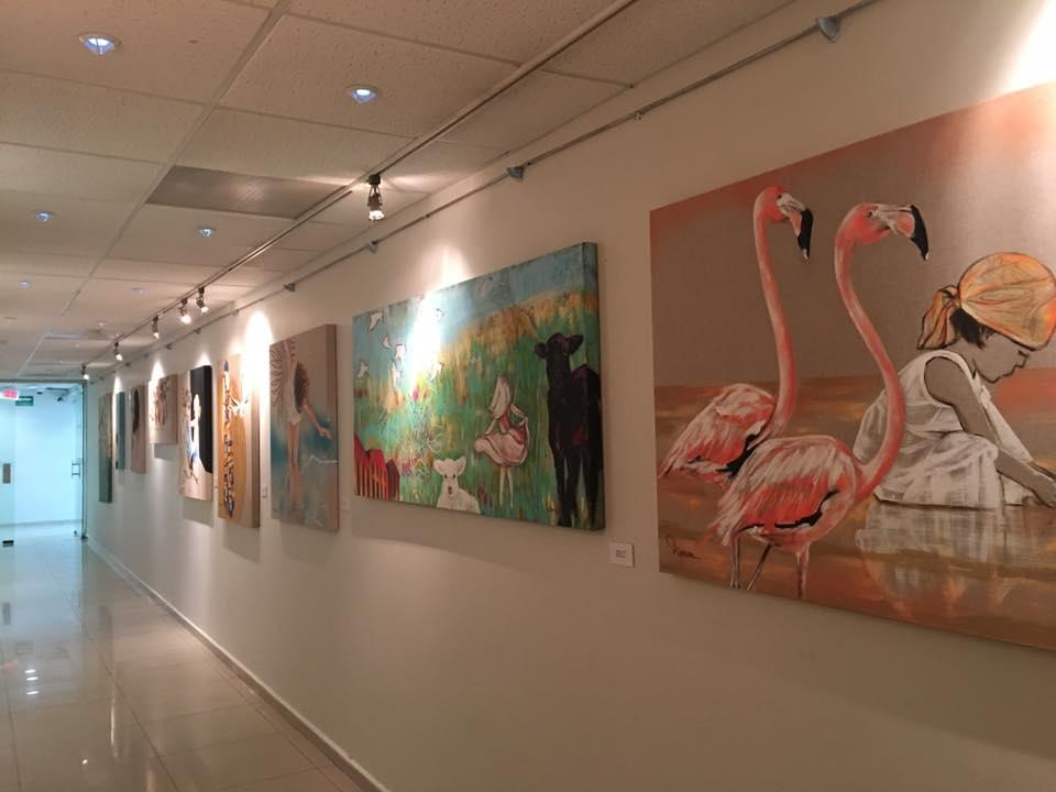 corredor del arte