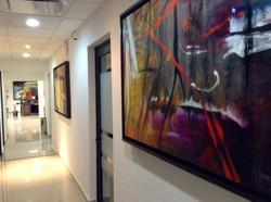 pasillo de oficinas