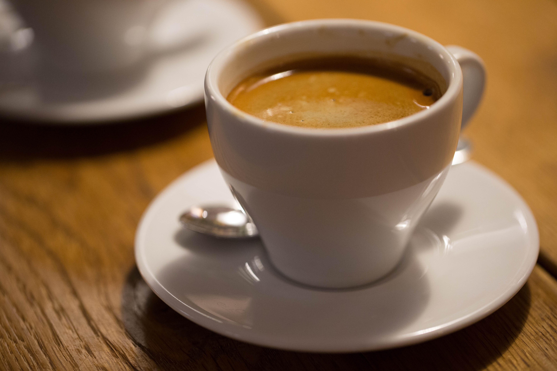 The Double Espresso - 1st shot