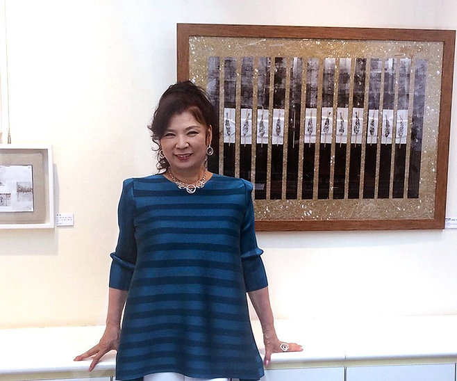 Aki Yashiro, Last Supper, Da Vinci, Japanese artist, Mauro De Giorgi
