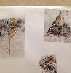 Blue leaves-craft-minimal-skeleton-contemporary-detail 4