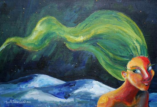 Revontulityttö / Girl of Northern Lights
