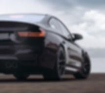 Black Sports Car Scenic Back Ground_edit