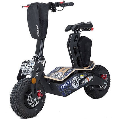 MotoTec Mad 1600W 48 Volt Electric Scooter