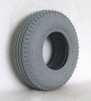 """9"""" x 2-3/4"""" (2.80/2.50-4) HD Foam-Filled Tire with Sawtooth Tread C178 (Primo) Side View"""