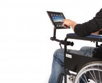 MagConnect™ Wheelchair Mount for iPad 4th/3rd/2nd Gen Front View