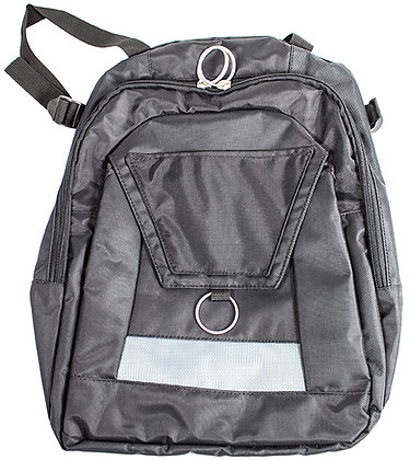 Backpack for Manual Wheelchairs with Push Handles Front View