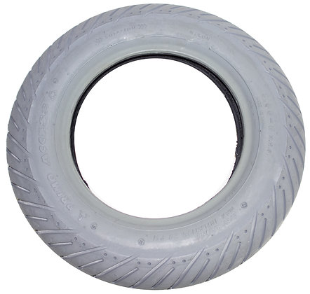 """14"""" x 3"""" (3.00-8) Pneumatic Tire With V Tread (Primo) Side View"""