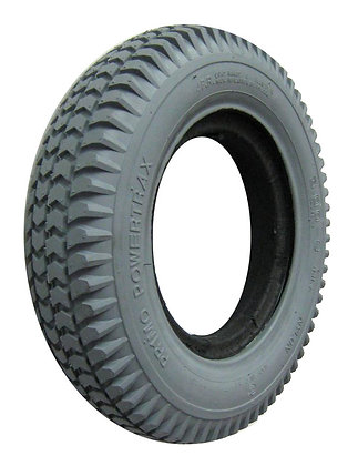 """14"""" x 3"""" (3.00-8) Foam-Filled Tire With Powertrax C248 Tread (Solid Keyway) Side View"""