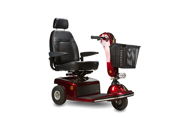Shoprider Sunrunner 3 Mid-Size Mobility Scooter Side Profile View