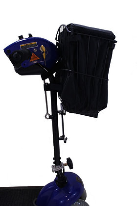 Tiller Basket Linerfor Mobility Scooters Side View