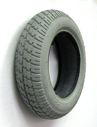 "14"" x 3"" (3.00-8) Pneumatic Tire With Durotrap Tread C9210 (Primo) Side Profile View"
