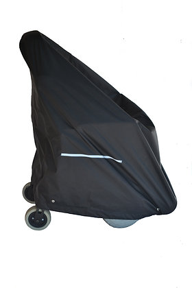 Standard (Tall) Weatherproof Cover for Power Chairs Side View