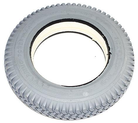 "14"" x 3"" (3.00-8) HD Foam-Filled Tire With Powertrax Tread C248 Side View"
