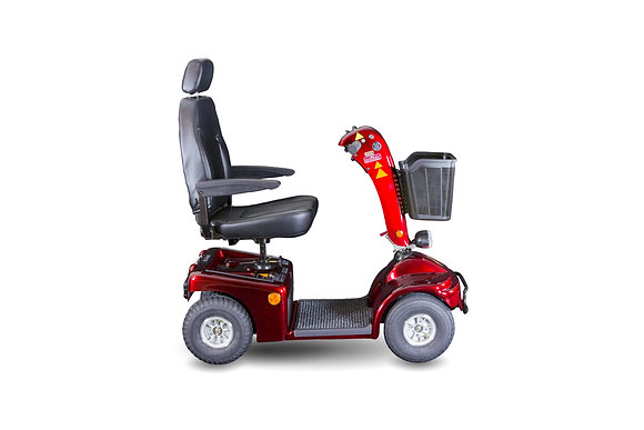 Shoprider Sprinter XL4 Heavy-Duty Mobility Scooter Side View