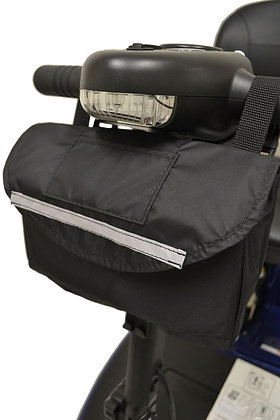 Standard Tiller Bag for Mobility Scooters Side Profile View