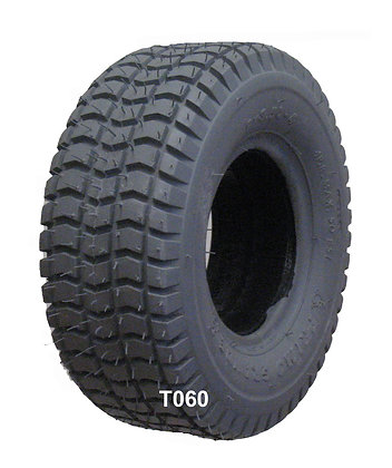 9 x 3.50-4 Pneumatic Tire With Knobby Grande Tread C203 Side Profile View