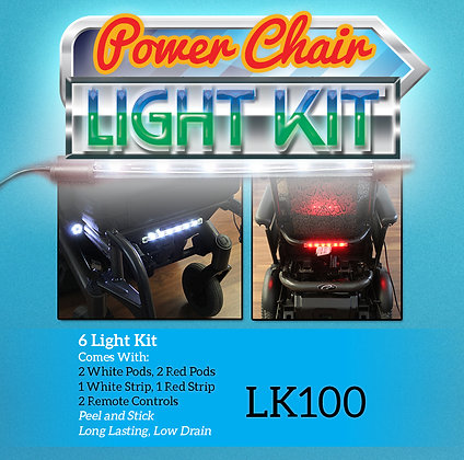 Light Kit for Scooters and Power Chairs with 6 Lights and 2 Remotes Front image