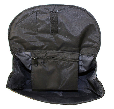 """Side Pack For Scooters, Power Chairs and Wheelchairs 10"""" x 8"""" x 3"""" Front View"""