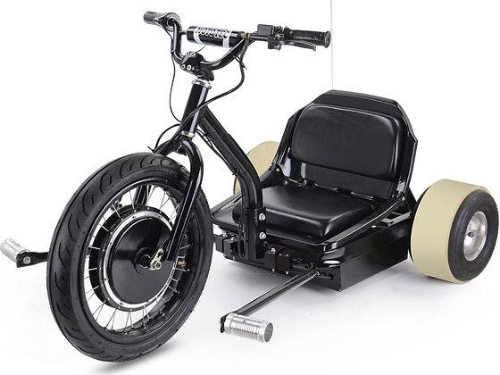 MotoTec Drifter 48V Electric Trike Left Side Profile View