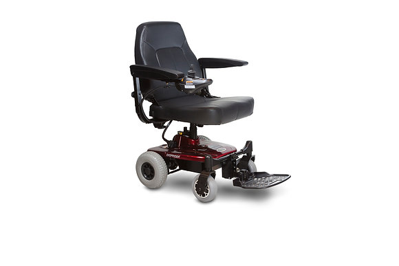 Shoprider Jimmie Power Chair Side Profile View