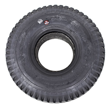 """10"""" x 3"""" (3.00-4)(260x85) Black Non Marking Foam-Filled Tire with C248 Tread Side View"""
